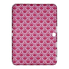 SCALES2 WHITE MARBLE & PINK DENIM Samsung Galaxy Tab 4 (10.1 ) Hardshell Case