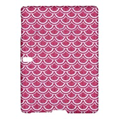 SCALES2 WHITE MARBLE & PINK DENIM Samsung Galaxy Tab S (10.5 ) Hardshell Case