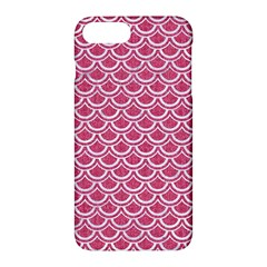 SCALES2 WHITE MARBLE & PINK DENIM Apple iPhone 7 Plus Hardshell Case