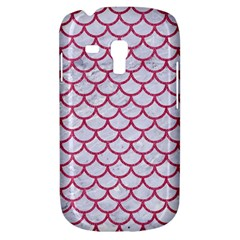 Scales1 White Marble & Pink Denim (r) Galaxy S3 Mini by trendistuff