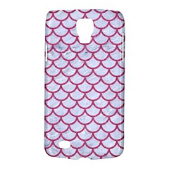 Scales1 White Marble & Pink Denim (r) Galaxy S4 Active