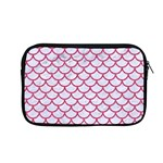 SCALES1 WHITE MARBLE & PINK DENIM (R) Apple MacBook Pro 13  Zipper Case Front