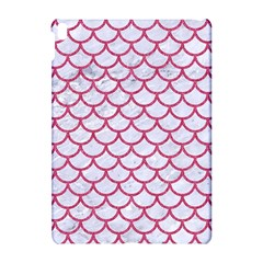 Scales1 White Marble & Pink Denim (r) Apple Ipad Pro 10 5   Hardshell Case by trendistuff