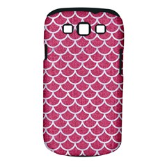 Scales1 White Marble & Pink Denim Samsung Galaxy S Iii Classic Hardshell Case (pc+silicone) by trendistuff