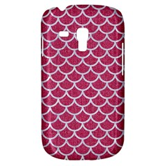 Scales1 White Marble & Pink Denim Galaxy S3 Mini by trendistuff