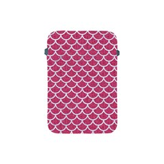 Scales1 White Marble & Pink Denim Apple Ipad Mini Protective Soft Cases