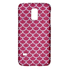 Scales1 White Marble & Pink Denim Galaxy S5 Mini by trendistuff