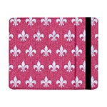 ROYAL1 WHITE MARBLE & PINK DENIM (R) Samsung Galaxy Tab Pro 8.4  Flip Case Front