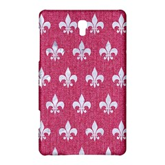 Royal1 White Marble & Pink Denim (r) Samsung Galaxy Tab S (8 4 ) Hardshell Case