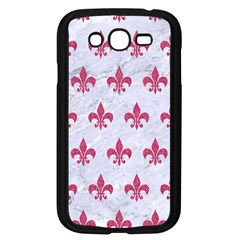 Royal1 White Marble & Pink Denim Samsung Galaxy Grand Duos I9082 Case (black)