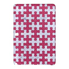 Puzzle1 White Marble & Pink Denim Samsung Galaxy Tab Pro 10 1 Hardshell Case