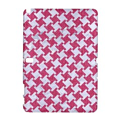 HOUNDSTOOTH2 WHITE MARBLE & PINK DENIM Galaxy Note 1