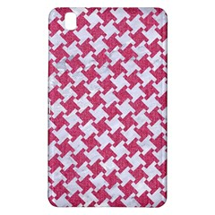 Houndstooth2 White Marble & Pink Denim Samsung Galaxy Tab Pro 8 4 Hardshell Case