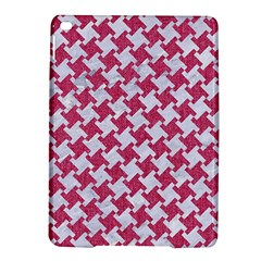 HOUNDSTOOTH2 WHITE MARBLE & PINK DENIM iPad Air 2 Hardshell Cases