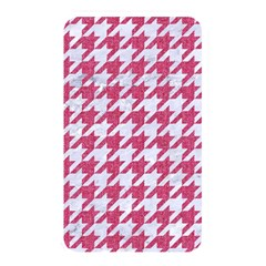 Houndstooth1 White Marble & Pink Denim Memory Card Reader