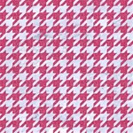 HOUNDSTOOTH1 WHITE MARBLE & PINK DENIM Magic Photo Cubes Side 3