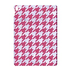 Houndstooth1 White Marble & Pink Denim Apple Ipad Pro 10 5   Hardshell Case by trendistuff