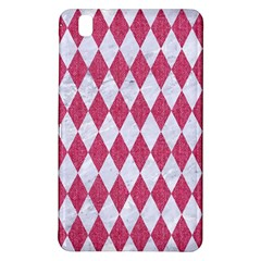 Diamond1 White Marble & Pink Denim Samsung Galaxy Tab Pro 8 4 Hardshell Case by trendistuff