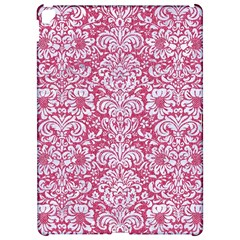 Damask2 White Marble & Pink Denim Apple Ipad Pro 12 9   Hardshell Case by trendistuff