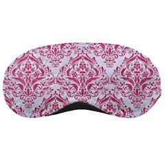 Damask1 White Marble & Pink Denim (r) Sleeping Masks by trendistuff