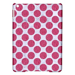 Circles2 White Marble & Pink Denim (r) Ipad Air Hardshell Cases by trendistuff