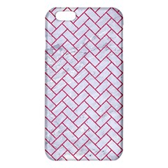 Brick2 White Marble & Pink Denim (r) Iphone 6 Plus/6s Plus Tpu Case by trendistuff