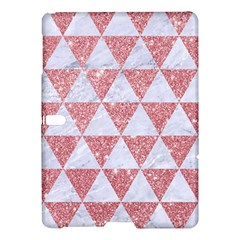 Triangle3 White Marble & Pink Glitter Samsung Galaxy Tab S (10 5 ) Hardshell Case  by trendistuff
