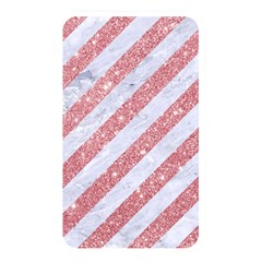Stripes3 White Marble & Pink Glitter (r) Memory Card Reader by trendistuff