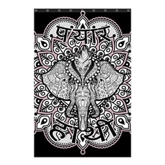 Ornate Hindu Elephant  Shower Curtain 48  X 72  (small)  by Valentinaart