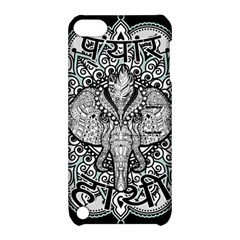Ornate Hindu Elephant  Apple Ipod Touch 5 Hardshell Case With Stand