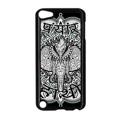 Ornate Hindu Elephant  Apple Ipod Touch 5 Case (black)