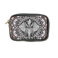 Ornate Hindu Elephant  Coin Purse by Valentinaart