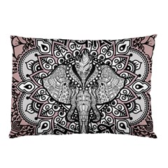Ornate Hindu Elephant  Pillow Case (two Sides)