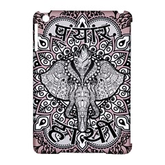 Ornate Hindu Elephant  Apple Ipad Mini Hardshell Case (compatible With Smart Cover) by Valentinaart