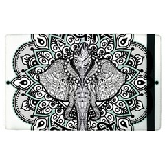 Ornate Hindu Elephant  Apple Ipad Pro 9 7   Flip Case by Valentinaart