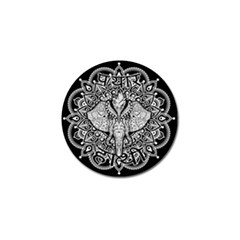 Ornate Hindu Elephant  Golf Ball Marker (4 Pack) by Valentinaart