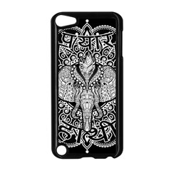 Ornate Hindu Elephant  Apple Ipod Touch 5 Case (black) by Valentinaart