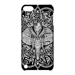 Ornate Hindu Elephant  Apple Ipod Touch 5 Hardshell Case With Stand by Valentinaart