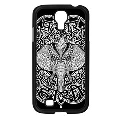 Ornate Hindu Elephant  Samsung Galaxy S4 I9500/ I9505 Case (black) by Valentinaart