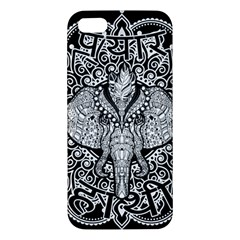 Ornate Hindu Elephant  Iphone 5s/ Se Premium Hardshell Case