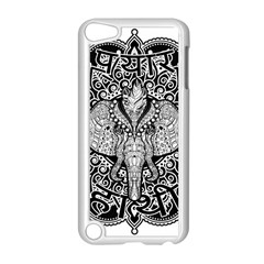 Ornate Hindu Elephant  Apple Ipod Touch 5 Case (white) by Valentinaart