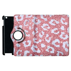 Skin5 White Marble & Pink Glitter (r) Apple Ipad 3/4 Flip 360 Case by trendistuff
