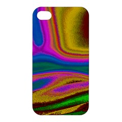 Colorful Waves Apple Iphone 4/4s Premium Hardshell Case