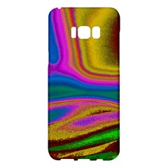 Colorful Waves Samsung Galaxy S8 Plus Hardshell Case