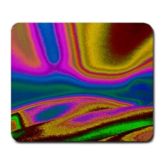 Colorful Waves Large Mousepads