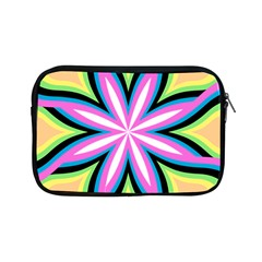 Colorful Feathers Mandala Apple Ipad Mini Zipper Cases by LoolyElzayat
