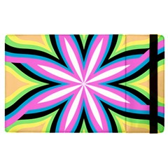 Colorful Feathers Mandala Apple Ipad Pro 12 9   Flip Case