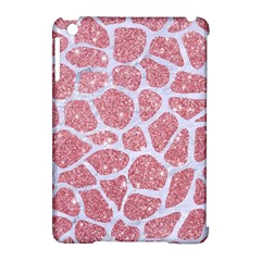 Skin1 White Marble & Pink Glitter (r) Apple Ipad Mini Hardshell Case (compatible With Smart Cover) by trendistuff