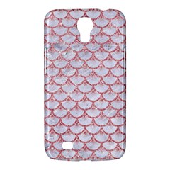 Scales3 White Marble & Pink Glitter (r) Samsung Galaxy Mega 6 3  I9200 Hardshell Case by trendistuff