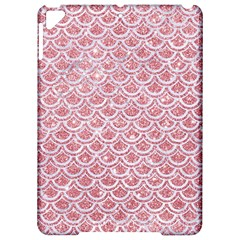 Scales2 White Marble & Pink Glitter Apple Ipad Pro 9 7   Hardshell Case